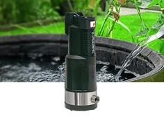 Pompe récupération eau de pluie