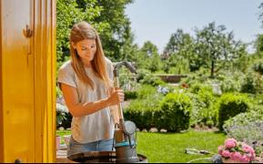 Pompe pour collecteur d'eau de pluie 4000/1