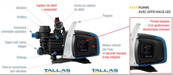 D couvrez la gamme de pompes de surface automatiques d eboost de tallas - Matelas gonflable pompe integree mode d emploi ...