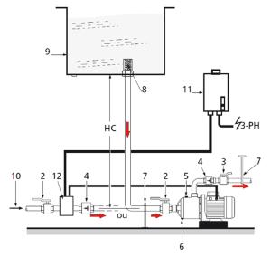 springson404-monophase pompe de surface