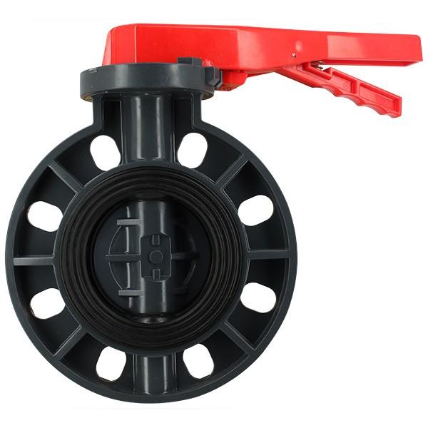 Vanne papillon PVC - D75mm - 10PN