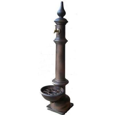 d couvrez notre fontaine de jardin en fonte avec robinet. Black Bedroom Furniture Sets. Home Design Ideas