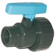 Vanne à boisseau PVC pression simple union à visser FF
