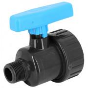 Vanne à boisseau PVC pression simple union à visser MF