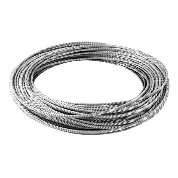 Câble inox 6mm - au mètre