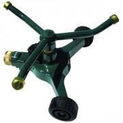 Arroseur rotatif métal 3 bras sur roues