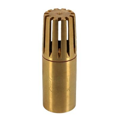 Clapet crépine laiton tubulaire 1