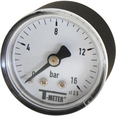 Manomètre sec 0-6 bars - Ø40 - Axial