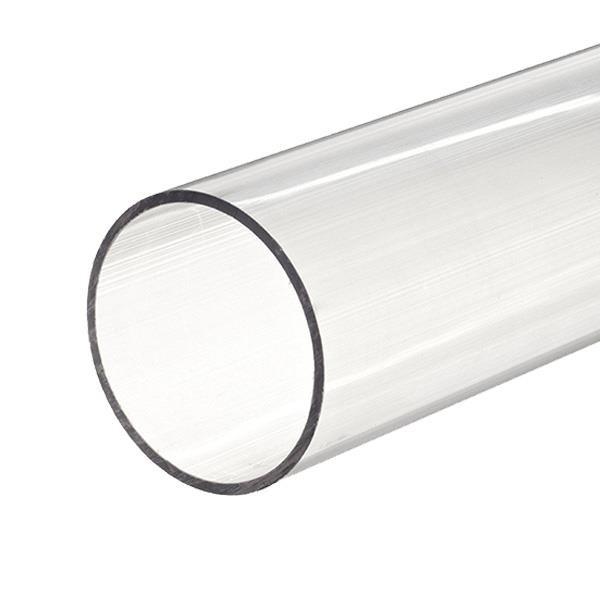 Tube PVC rigide D50 transparent 16 b - 2.5 m