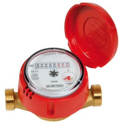 Le Compteur divisionnaire Calibre 20 - Eau chaude - MID R160