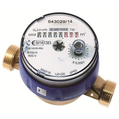Le Compteur divisionnaire pré-équipé télérelevage Calibre 15 - Eau froide - MID R100