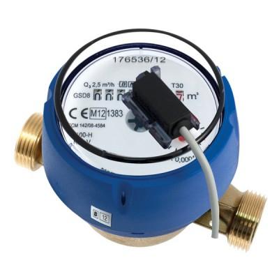 Le Compteur divisionnaire à émetteur d'impulsions Calibre 20 - Eau froide - MID R100