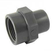 Adaptateur PVC pression mixte MF Ø50-1