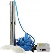 4SPM5/12 - 1,1 kW - 40 m - Turbines inox
