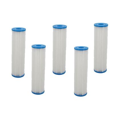 Lot de 5 cartouches polyester 20µ - 9