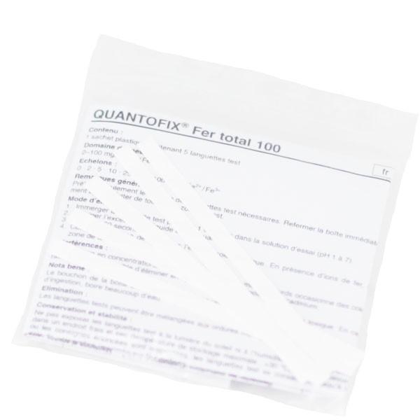 Kit analyse Fer - 5 bandelettes
