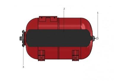 Pièces détachée Réservoir Zilmet 50L Horizontal