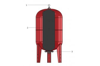 Pièces détachée Réservoir Zilmet 50L Vertical