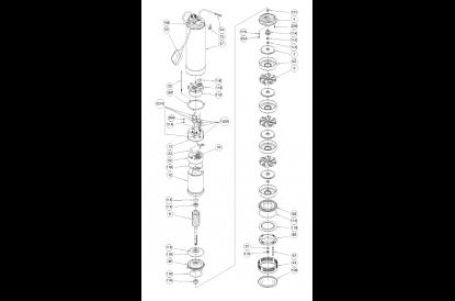 Pièces détachée Idrogo M40/12A
