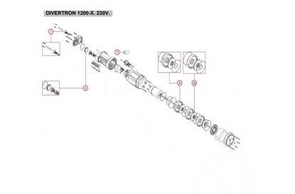 Pièces détachée Divertron 1200-X
