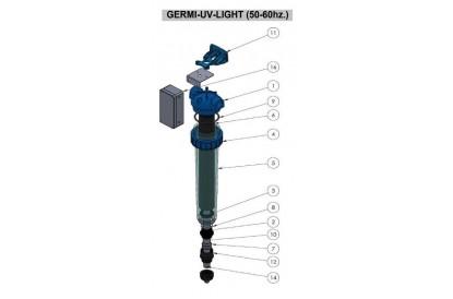 Pièces détachée GERMI UV Light