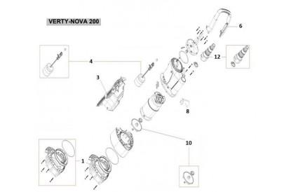 Pièces détachée Verty Nova 200
